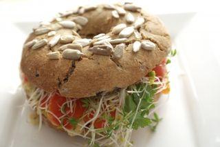 vegan glutenvrije bagels