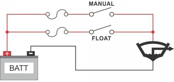 Boat Bilge Pump Wiring Diagram Boat Wiring Boat Boat Battery