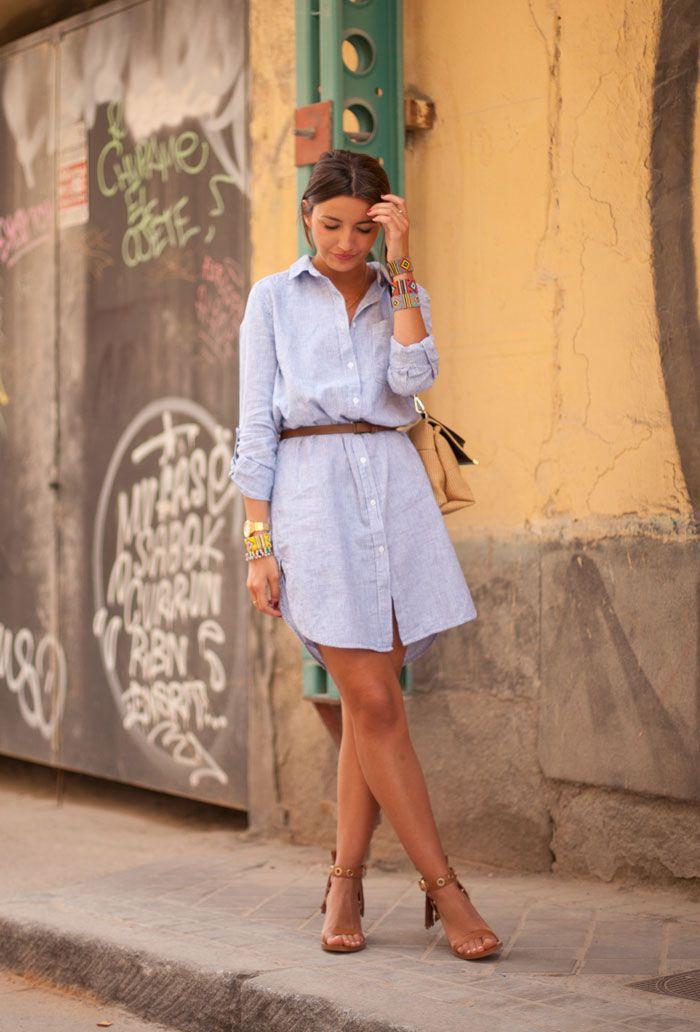 the perfect shirt dress - Lovely Pepa by Alexandra