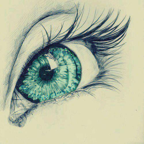 Afbeelding via We Heart It https://weheartit.com/entry/143654656 #art #cool #draw #drawing #eye #green #love #perfect #sketch #drawingeye #realeye