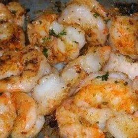 Garlic Parmesan Shrimp I added talapia to the shrimp. It was so good!!! Very easy recipe.