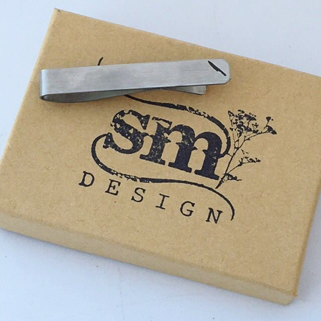 Tie Clip Perfect Gift Metal Keepsake Forever Chef Gift SMDesign Wedding Gift Best Gift Lucky Gift For Husband For Boyfriend Personalized Custom Engraved
