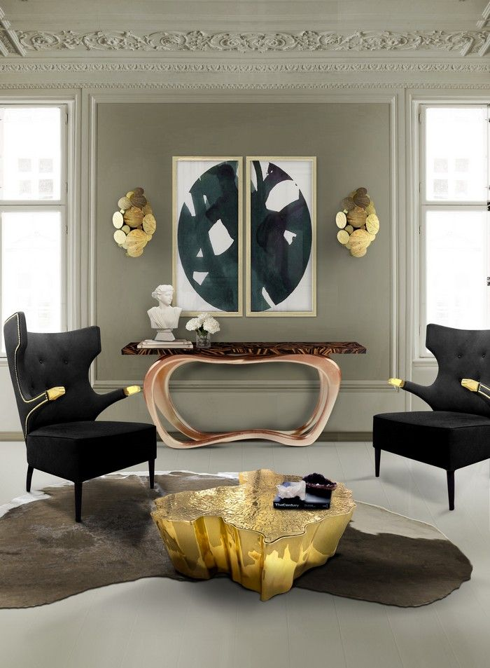 Eden center table represents a part of the tree of knowledge and the tale of the birth of desire.| www.bocadolobo.com #bocadolobo #luxuryfurniture #exclusivedesign #interiodesign #designideas #contemporarylivingroom #moderncentertable #eden