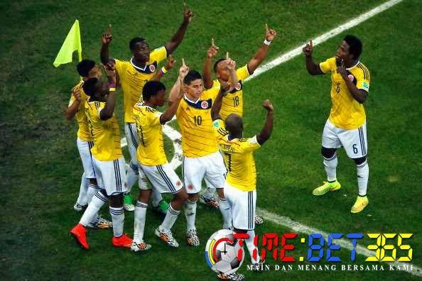 Prediksi Bola 365: Laporan Pertandingan : Kolombia (2) Vs (0) Uruguay...