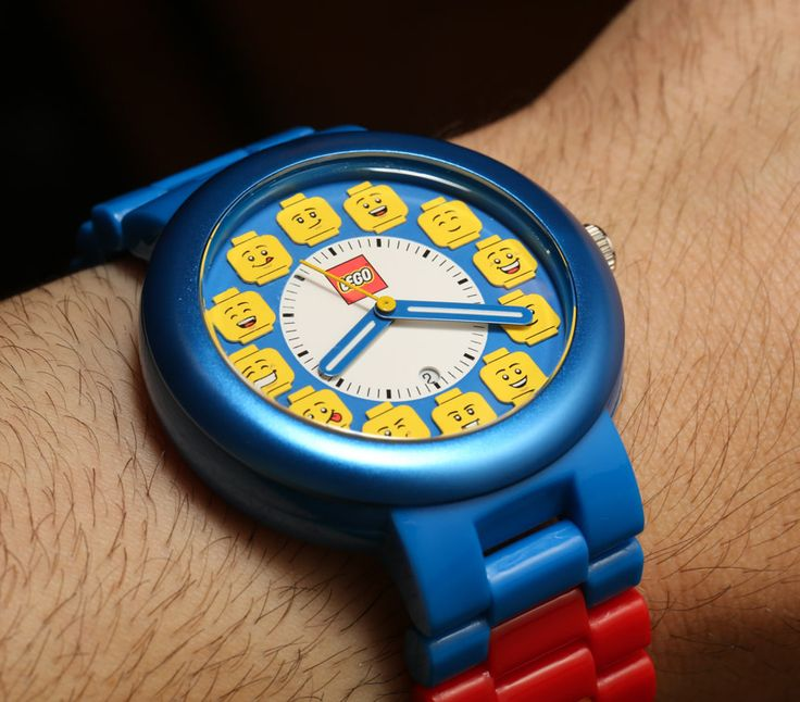 LEGO is releasing a collection of watches for adults.