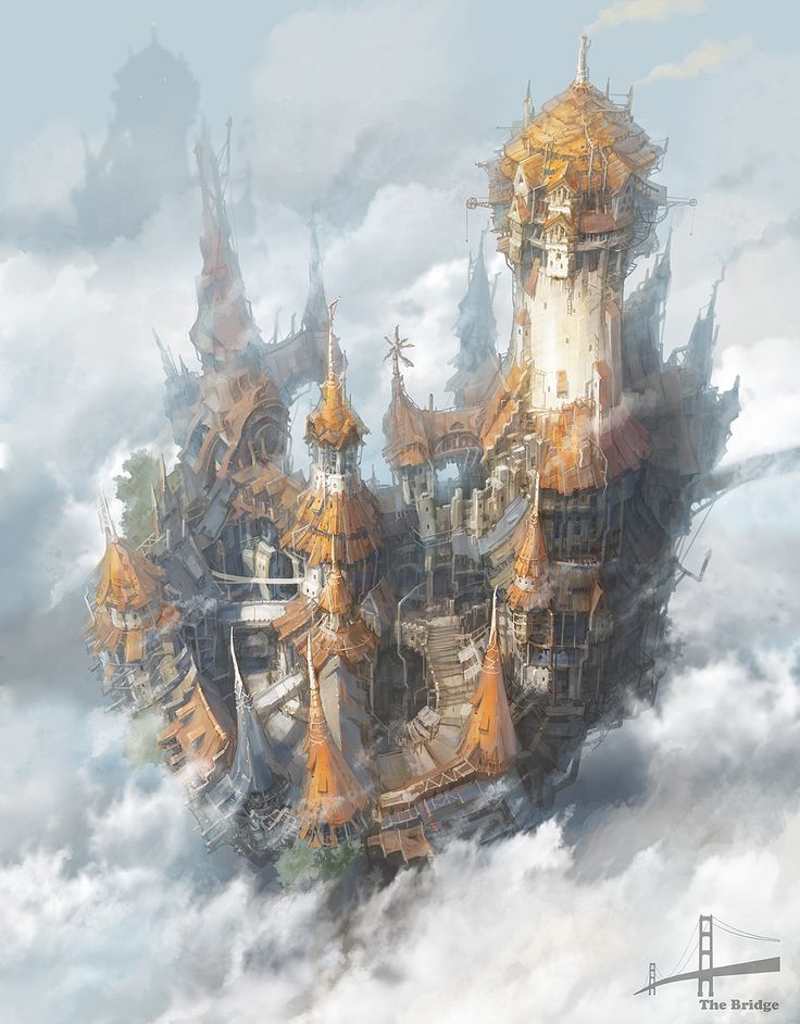 steampunk city by jungmin - Minseub Jung - CGHUB via PinCG.com