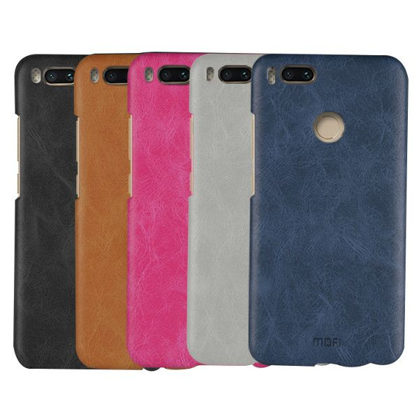Mofi Pu Leather Pc Protective Back Case For Xiaomi Mi A1 Xiaomi Mi 5x From On Banggood Com Xiaomi Leather St Pierre And Miquelon