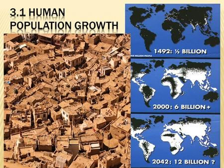  Population Clock Population Clock   The global population reached 6 billion in fall of 1999.>
