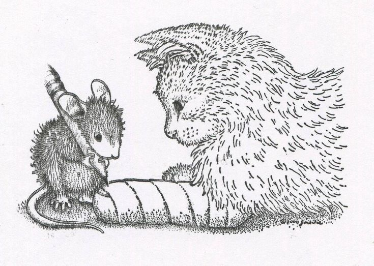 House Mouse Designs Coloring Pages