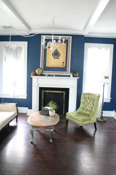 54 best images about The Perfect Dark Blue Room on Pinterest