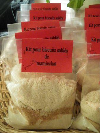 Kits pour petits sablés aux épices