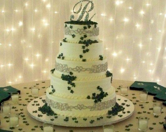 Wedding Cake Ideas Celtic Not Fondant
