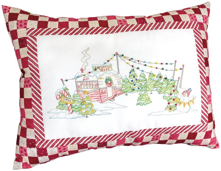 Candy Cane Tree Lot Christmas Tree Quilt Star Quilt Kit