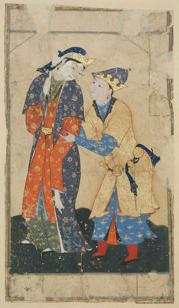 A Young Man Offering a Pomegranate to a Lady Persian, 16th century Iran DIMENSIONS 10.2 x 18.8 cm MEDIUM OR TECHNIQUE Paper; painting on paper  http://www.mfa.org/collections/object/a-young-man-offering-a-pomegranate-to-a-lady-13885