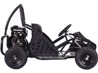 $799.00. MotoTec Off Road Go Kart 79cc Black. The MotoTec Off Road Go Kart is the ultimate kid's ride! Featuring a powerful 4 stroke 79cc engine, roll cage safety bars, positraction, metal throttle/brake pedals, adjustable seat and seat belt. This go kart is rugged and built to last. For riders 13 and up.