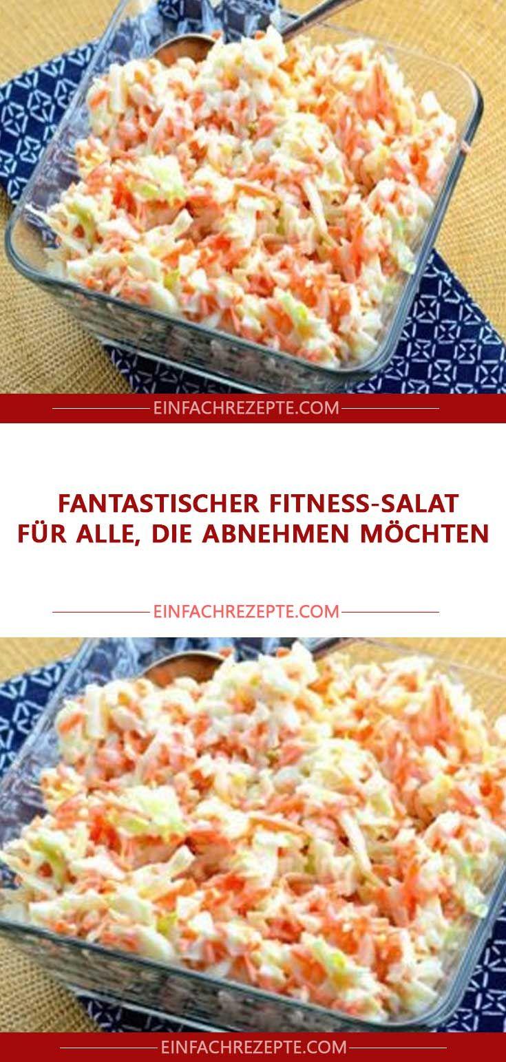 Fantastischer Fitness-Salat für alle, die abnehmen möchten – Nina Ziegler