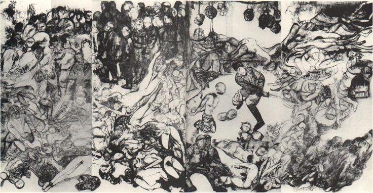 Maruki Iri and Maruki Toshi's Nanjing Massacre Mural