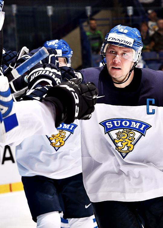 Jussi Jokinen, team Finland comes from my home town Kalajoki :)