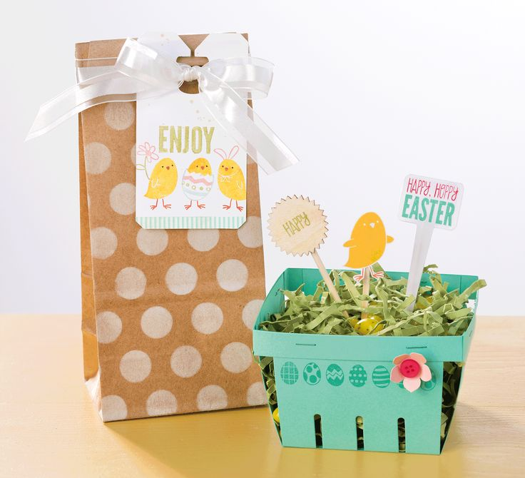 Make Your Easter Gifts Even More Adorable With The For Peeps Sake Stamp Set And Berry Basket Die Stampin Up