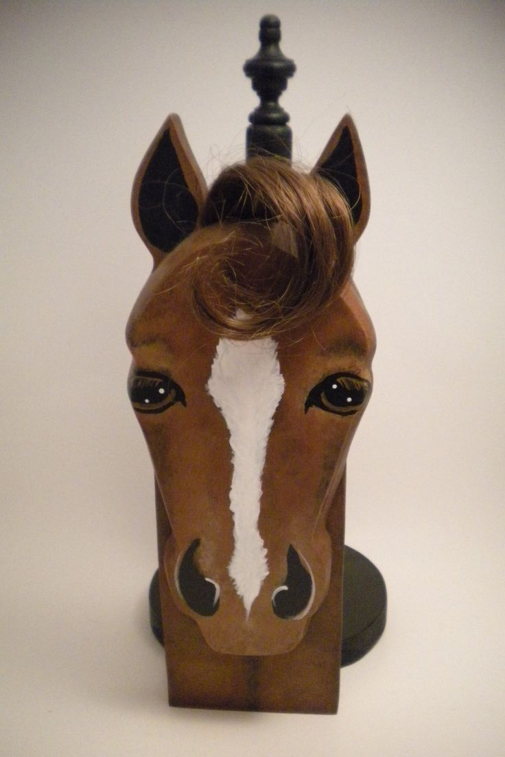 Horse arts and crafts - Bay Paper Towel Holder By Lisasartsandcrafts On Etsy