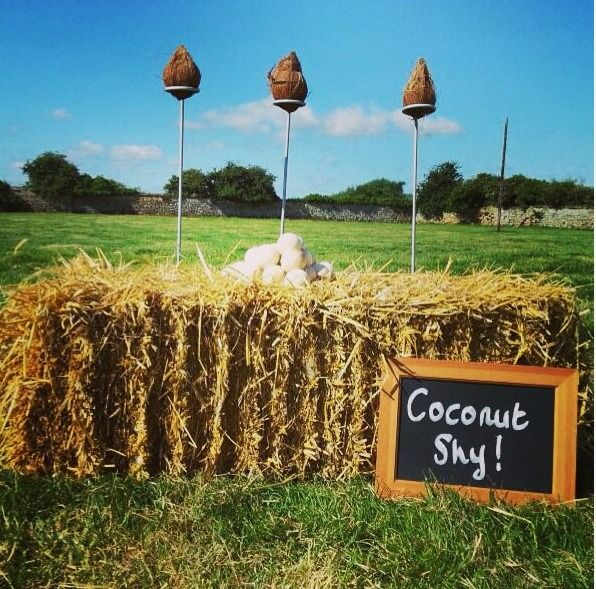 Coconut shy available to hire from @SamiTipi