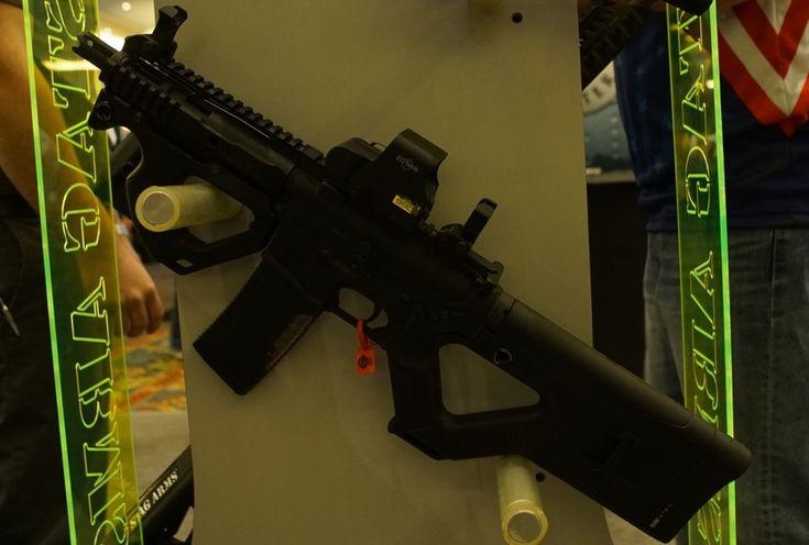Stag Arms 'Star Trek Gun,' Cali-Legal ARs, Left-Handed .308s - SHOT Show 2017 - GunsAmerica Digest