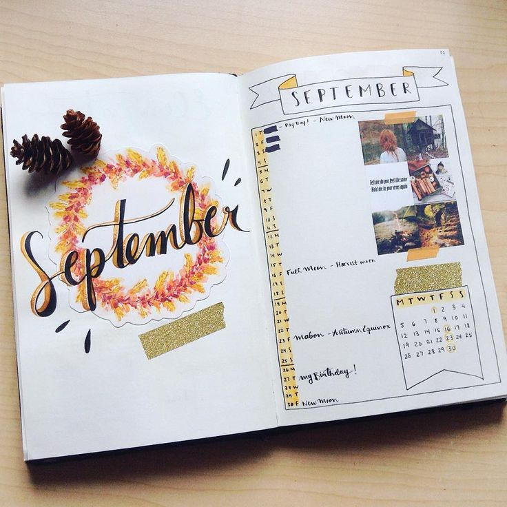 It's September!!! Autumn is coming!!! ☕️ - I changed my monthly drawing…