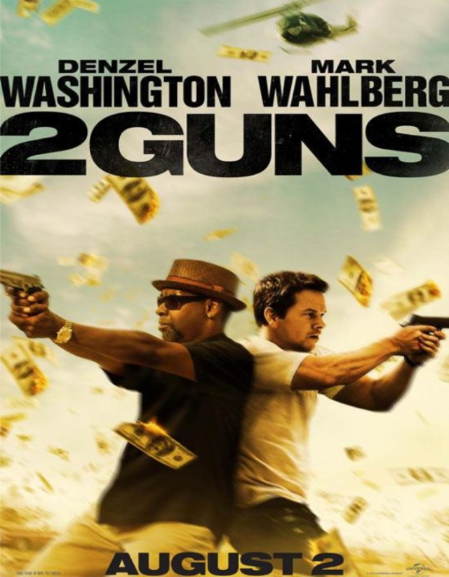 2 Guns » Official Trailer [Starring Denzel Washington, Mark Wahlberg, & Paula Patton]