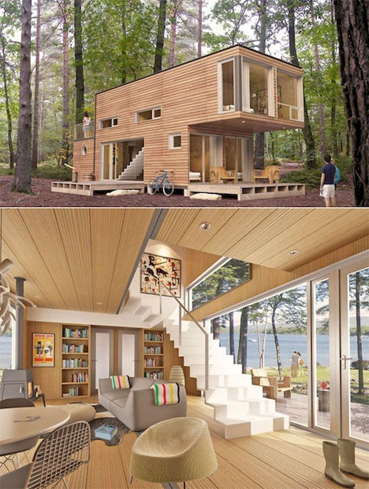 32 Awesome Tiny House Ideas With Small Space Solutions Tiny House Design Awesome Minimalist House Design Container House Design Shipping Container Home Designs