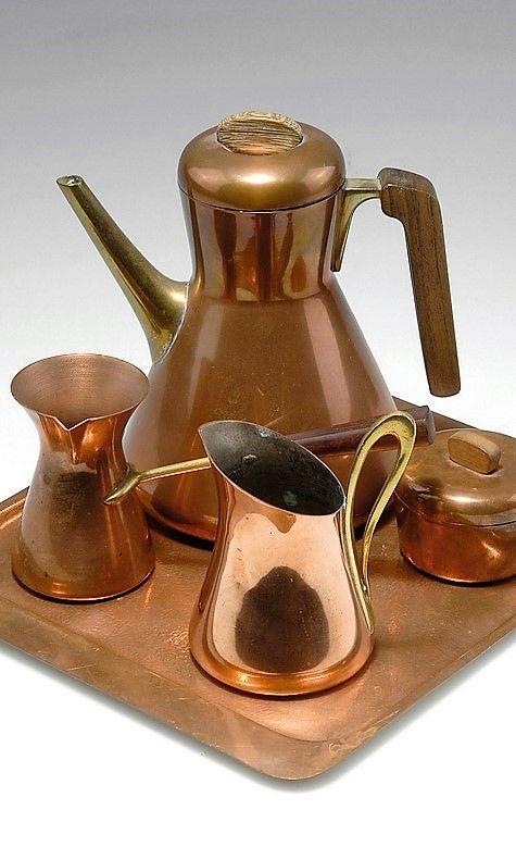 Kaffee-Service, 1936  Künstler:     Hagenauer, Karl Hersteller:     Hagenauer, Wien