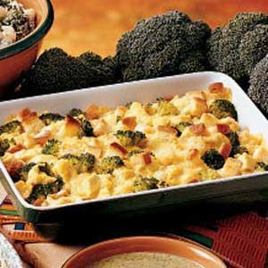Chicken Broccoli Casserole Recipe - 6 net carbs - low carb - to lower carbs even more use low carb bread crumbs or leave them out. If you feel it needs to be thickened use almond flour!