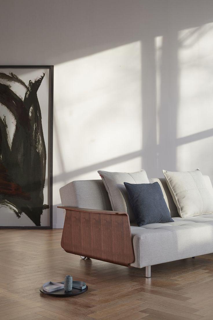 LONG HORN- 140 x 200 cm, Schlafsofa, Scandinavian Design ...