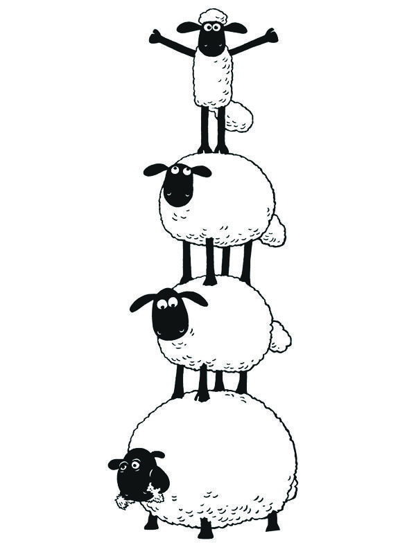 22 best Shaun the sheep images on Pinterest   Sheep, Shaun the sheep ...