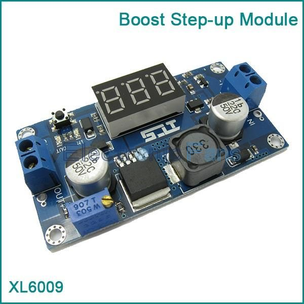 DC DC 4.5 32V to 5V 52V XL6009 Boost Step up Module Power Supply LED Voltmeter-in Other Electronic Components from Electronic Components & Supplies on Aliexpress.com | Alibaba Group