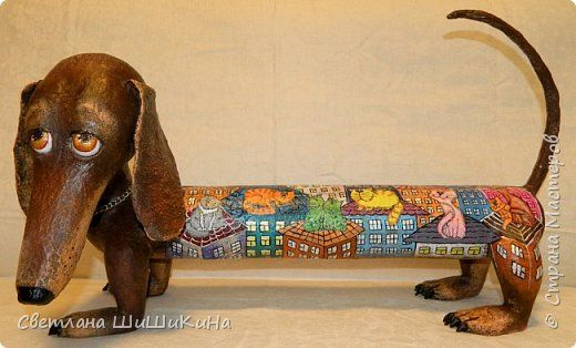 Поделка изделие День рождения Лепка Люсинда - дюбительница кошек фото 1
