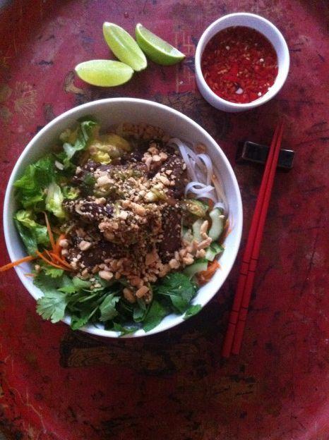 Vietnamesisk steaksalat2 Louisa Lorang