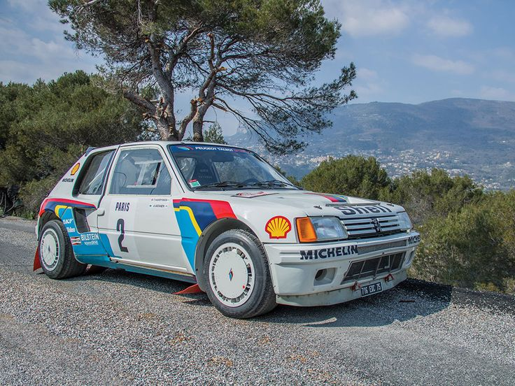 1984 Peugeot 205 Turbo 16 Evolution 1 Group B | Monaco 2016 | RM Sotheby's                                                                                                                                                     More