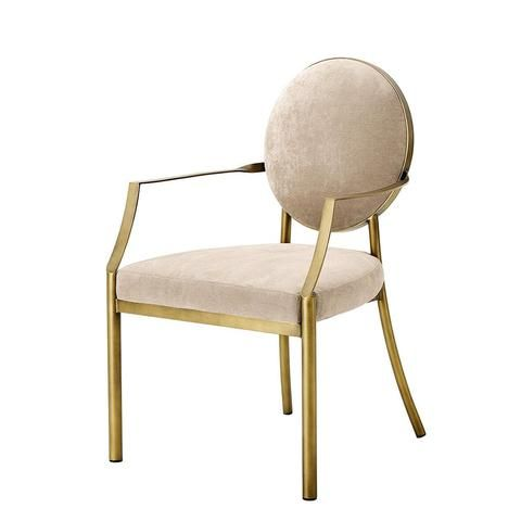 Eichholtz Scribe Dining Armchair | Lounge chairs | OROA - moden & contemporary furniture store Miami