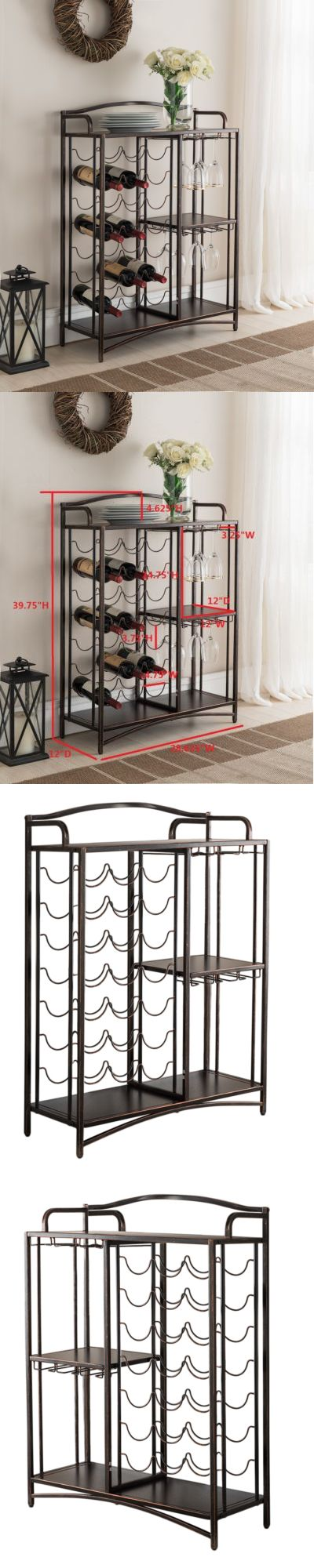 Wine Racks and Bottle Holders 20689: Kings Brand Furniture Metal Console Table Wine Rack Buffet Server -> BUY IT NOW ONLY: $109.99 on eBay!