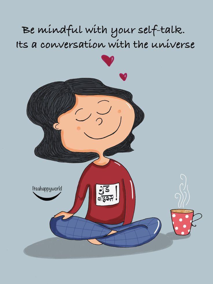 Be mindful! #illustration #doodle #art #quotes #buddhism #zen #girl #diy