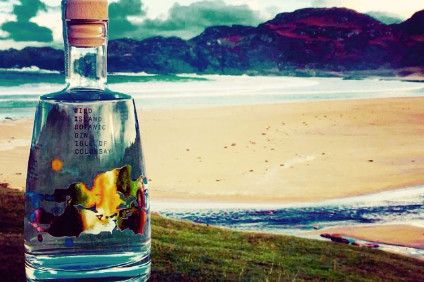 Colonsay Beverages Wild Island Botanic Gin cannot wait to try this