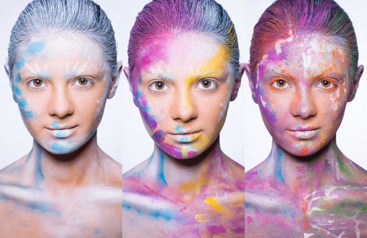Published in @ Make-Up Magazine Romania #3-4/14 (09-10) - 6 steps & cover  MUA: Diana Enaiche Photos: Bogdan Dancu Model: Madalina Sinoae