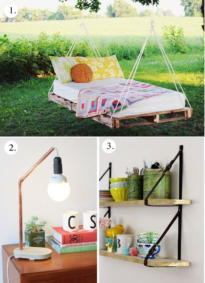 9 Weekend Project DIYs this would be cool at my parents house!