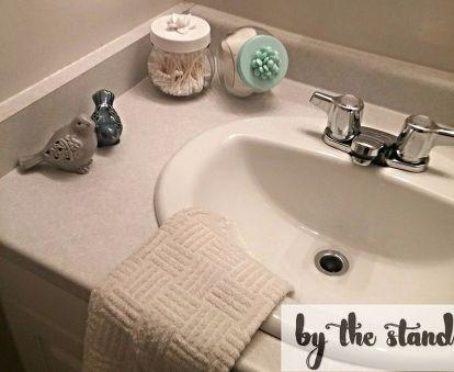 diy bathroom canisters, bathroom ideas