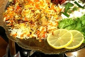 Biryani recipe. Biryani is a set of rice-based foods made with spices, rice (usually basmati) and meat, fish or chicken. Posted by Habib Akhtar.