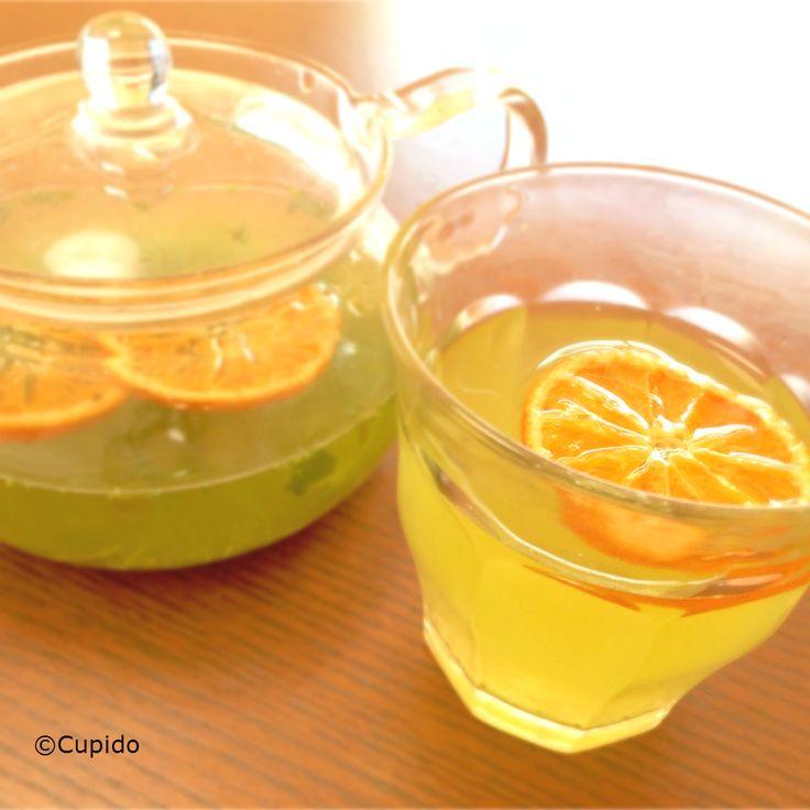 Detox Iced Green Tea in Nanno-no-Mikan flavour_©Cupido