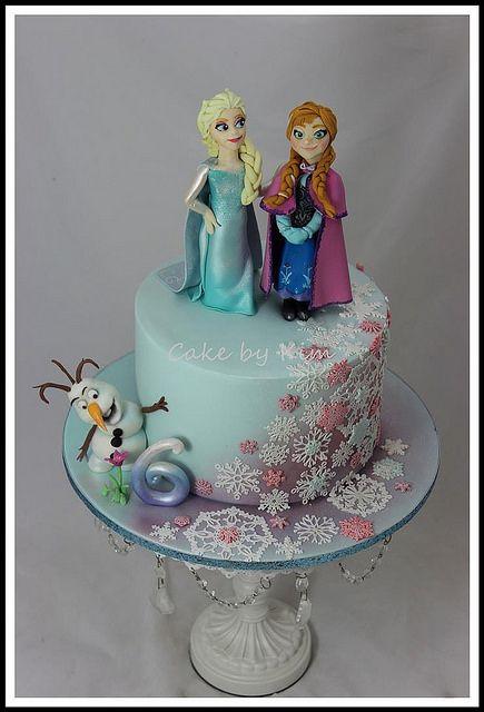 disney frozen cake | Flickr - Photo Sharing!