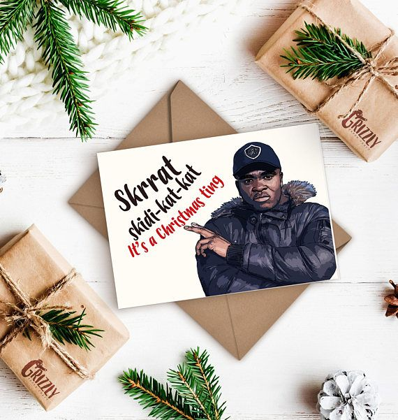 Big Shaq Christmas Card