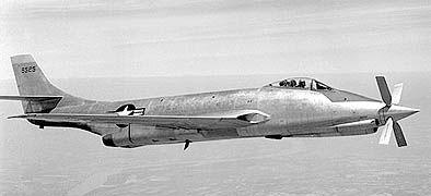 "Convair XF-81 ""Silver Bullet"""