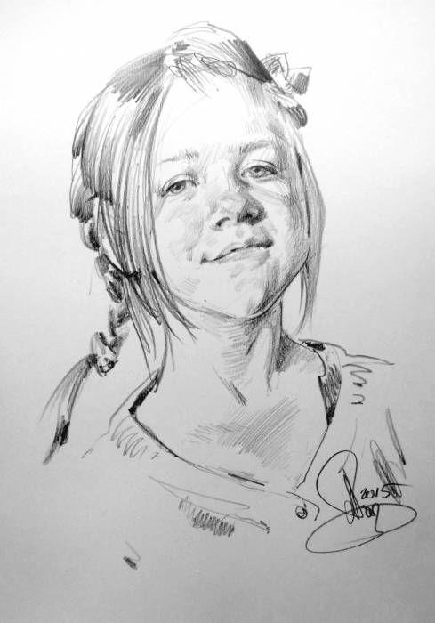 Портрет Катенка © Алексей Точин @alextochin бумага, графитный (простой) карандаш 30/40 см., 2015 г. #alextochin #портретназаказ #portraitpainter http://alextochin.com/photo/1-0-195